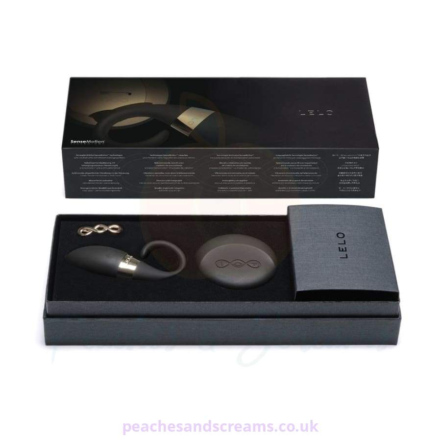 Lelo Oden Version 2 Black Remote-Control Vibrating Cock Ring