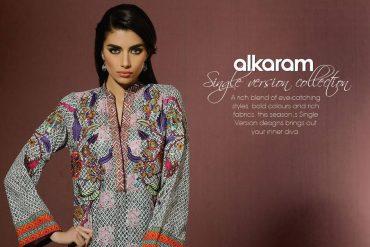 Exclusive Eid Collection 2015 by Alkaram studio