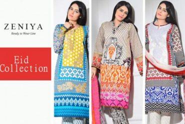 Latest Zeniya Eid Lawn 2015 for Women