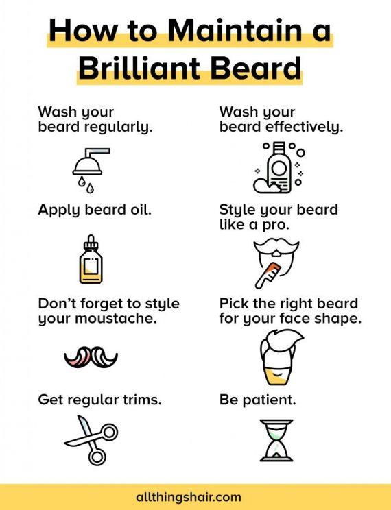 8 Ways To Maintain A Perfect Beard