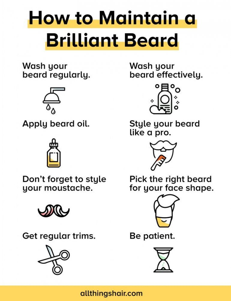 8 Ways To Maintain A Perfect Beard