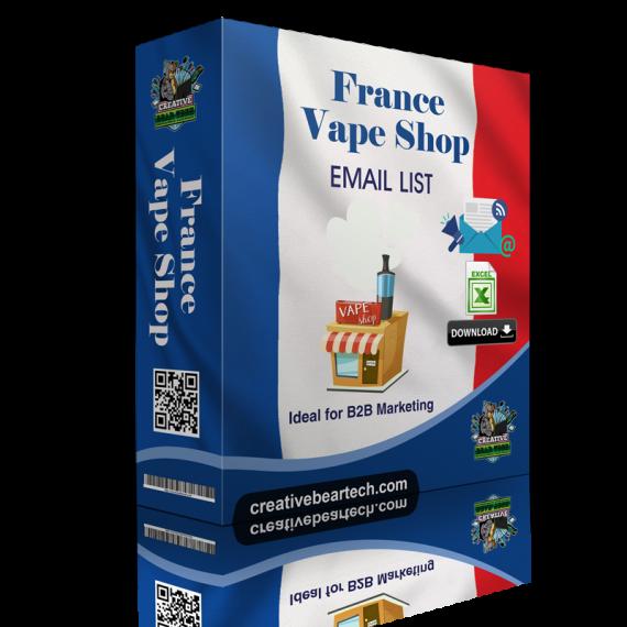 France Vape Shop Database